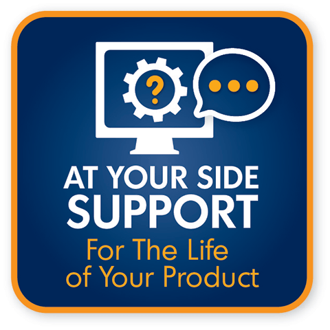 At your side support for the life of your product