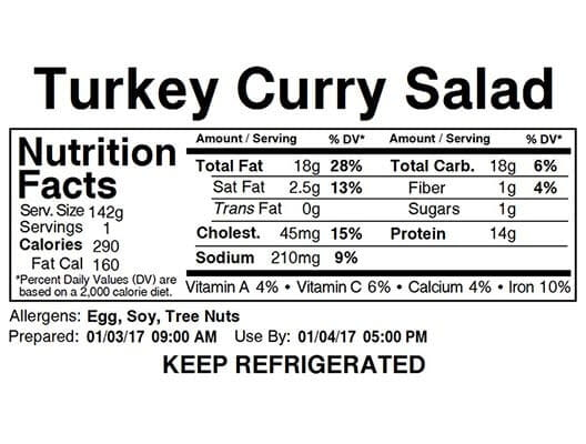 bms food image label
