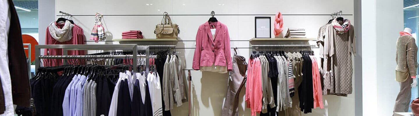 Clothing Displayed in Retail Store
