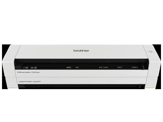 Front- Mobile Duplex Color Scanner