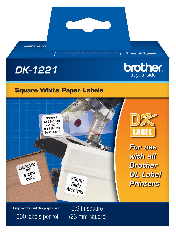 1,000 Paper Adhesive Labels
