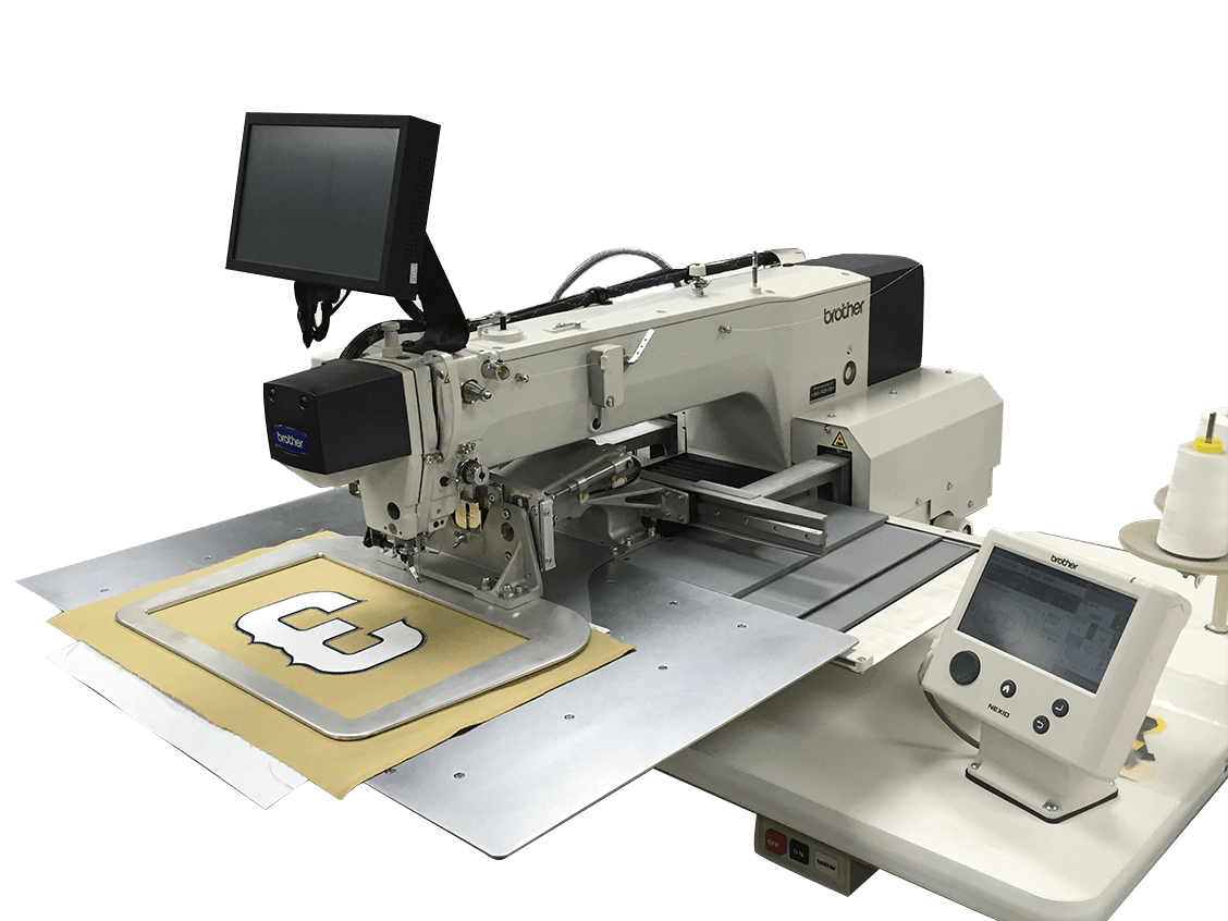 Vision sewing system