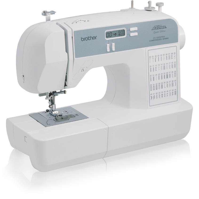 Brother CE5500T Computerized 50-Stitch Free-Arm Sewing Machine ...