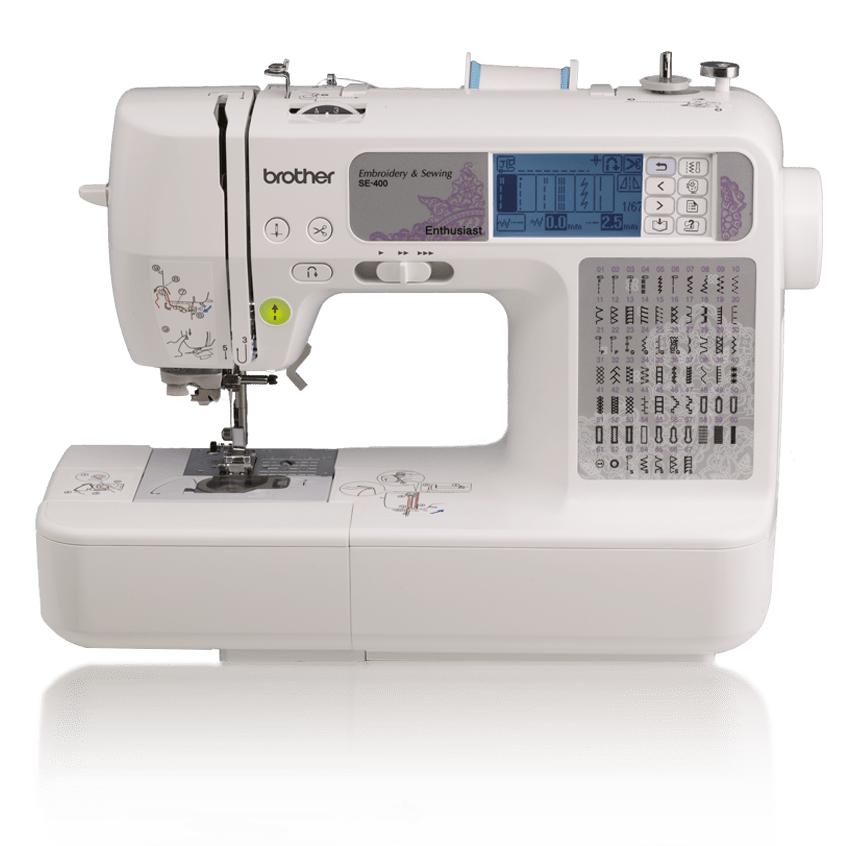 Se400 Programmable Embroidery Machine Brother