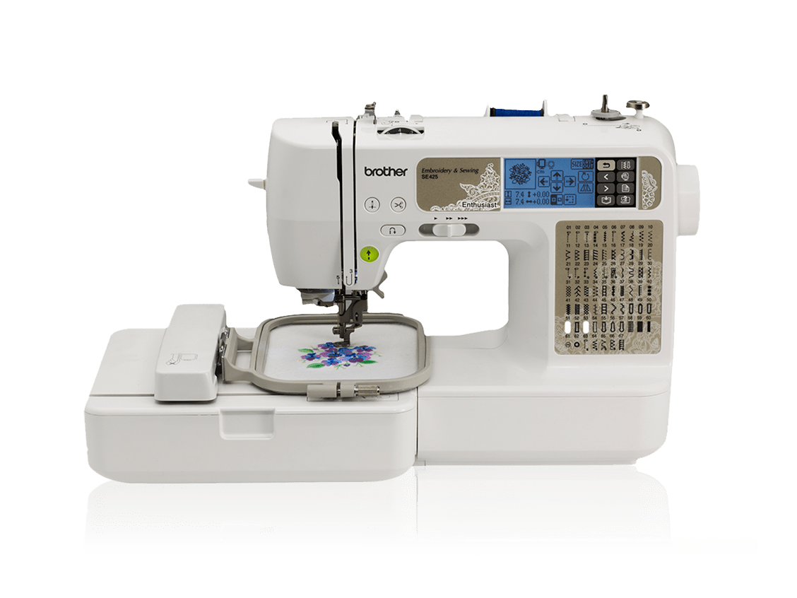 Brother se425 sewing & embroidery machine