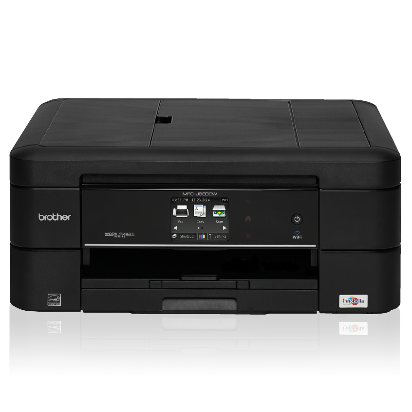 Brother Mfcj680 Dw Compact All In One Inkjet Printer