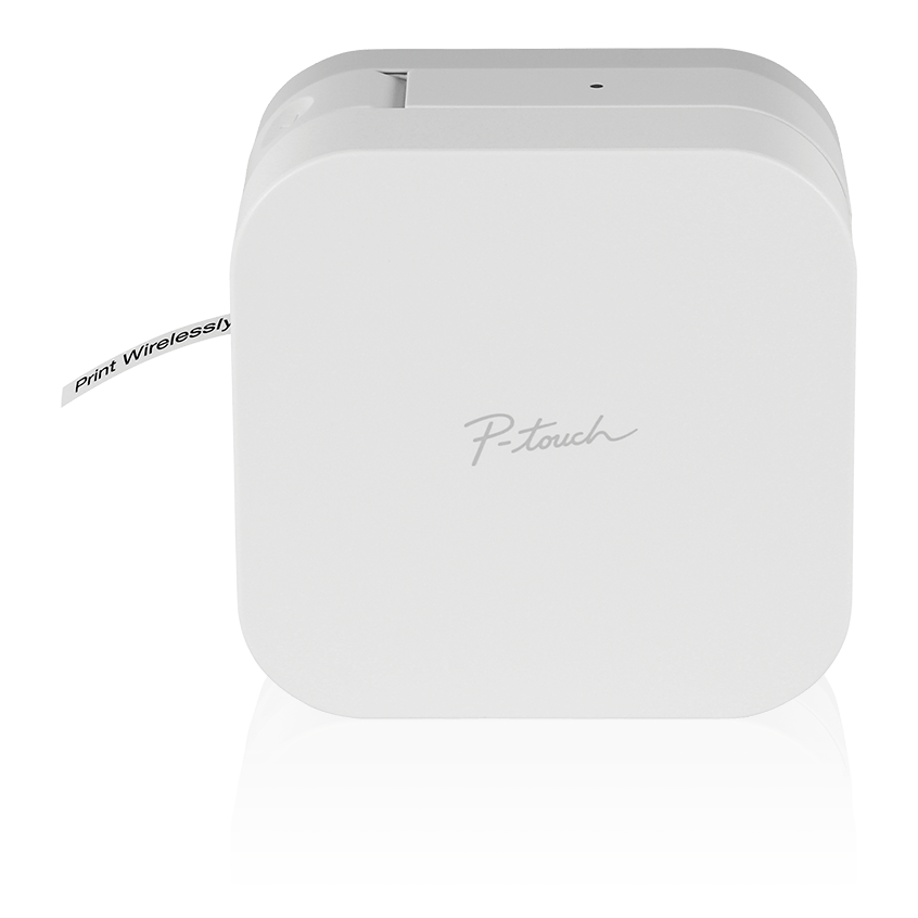 Brother PTP300BT | P-touch Cuble Label Maker, White