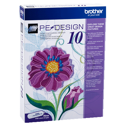 Pedesign10 By Brother