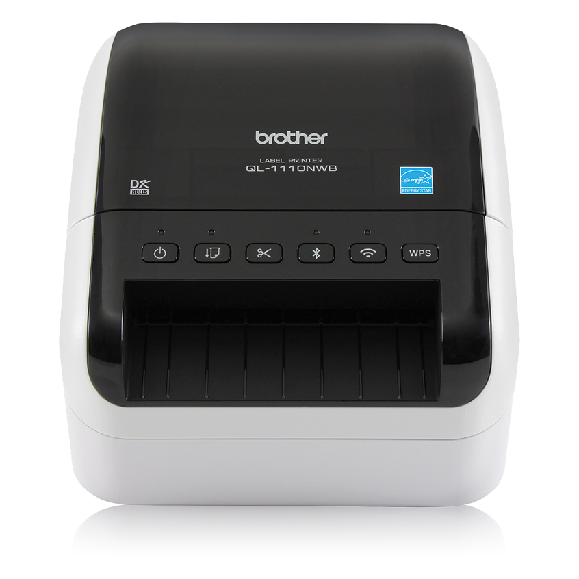 """Brother QL-1110NWB WIRELESS 4/"""" Wide Barcode Pro Thermal Printer *SHIPS TODAY*"""