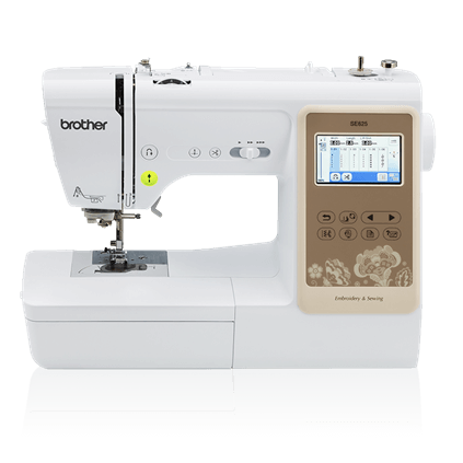 Brother SE625 | Computerized Sewing & Embroidery Machine