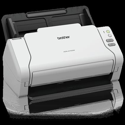 Brother ADS-2700W | Wireless, Color Desktop Scanner w/ LED