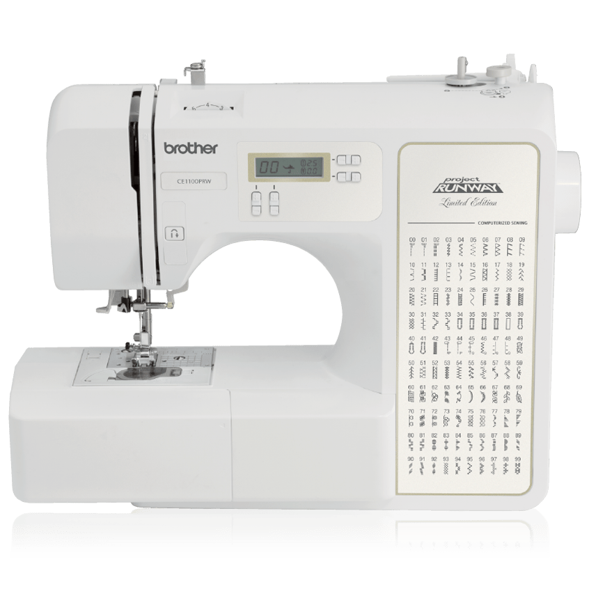 Brother CE1125PRW Project Runway Computerized 100-Stitch Sewing Machine NEW