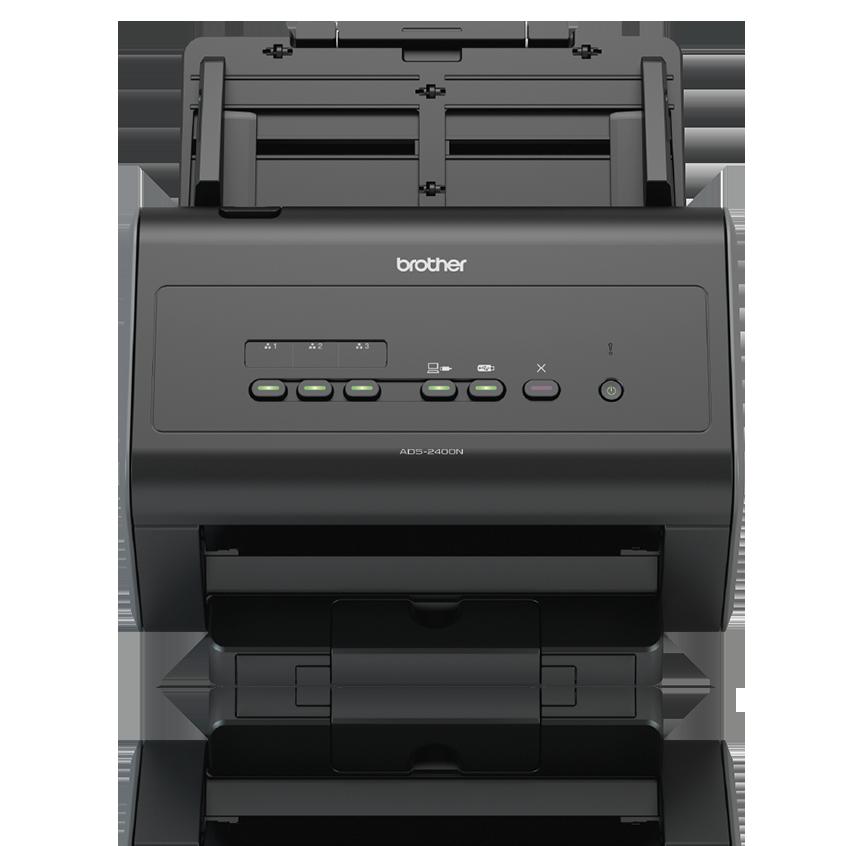Brother ADS-2400N | Network Desktop Scanner for Large