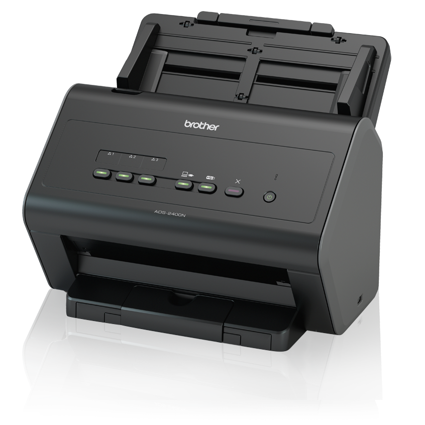 Brother ADS-2400N | Network Desktop Scanner for Large Workgroups