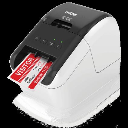 High Speed Label Printer Sold as 1 Each Black//White 93 Per Min