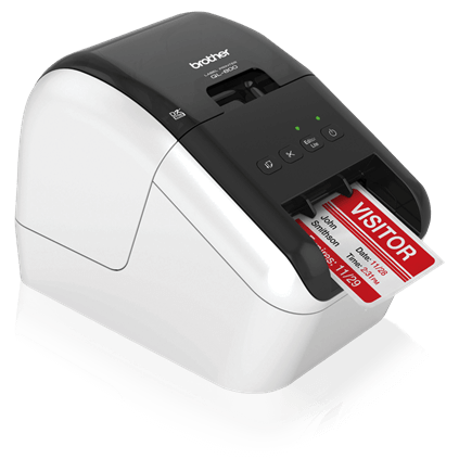 Brother Ql800 High Speed Professional Mobile Label Printer