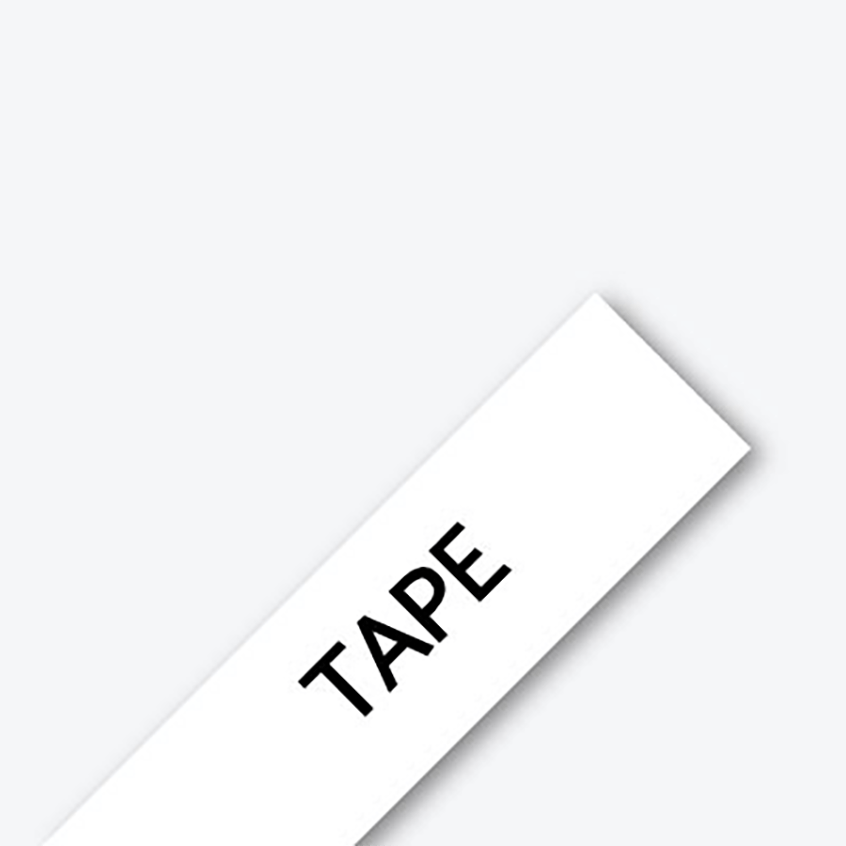 1x Brother TZ222 TZe-222 Genuine 9mm Red on White 8 meter Tape PT-1230 PT-1880