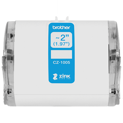 Brother Cz 1005 Continuous Length 50mm X 5m Label Roll