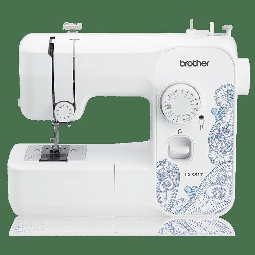 Brand New Brother LX3817 17-Stitch Full Size Sewing Machine White