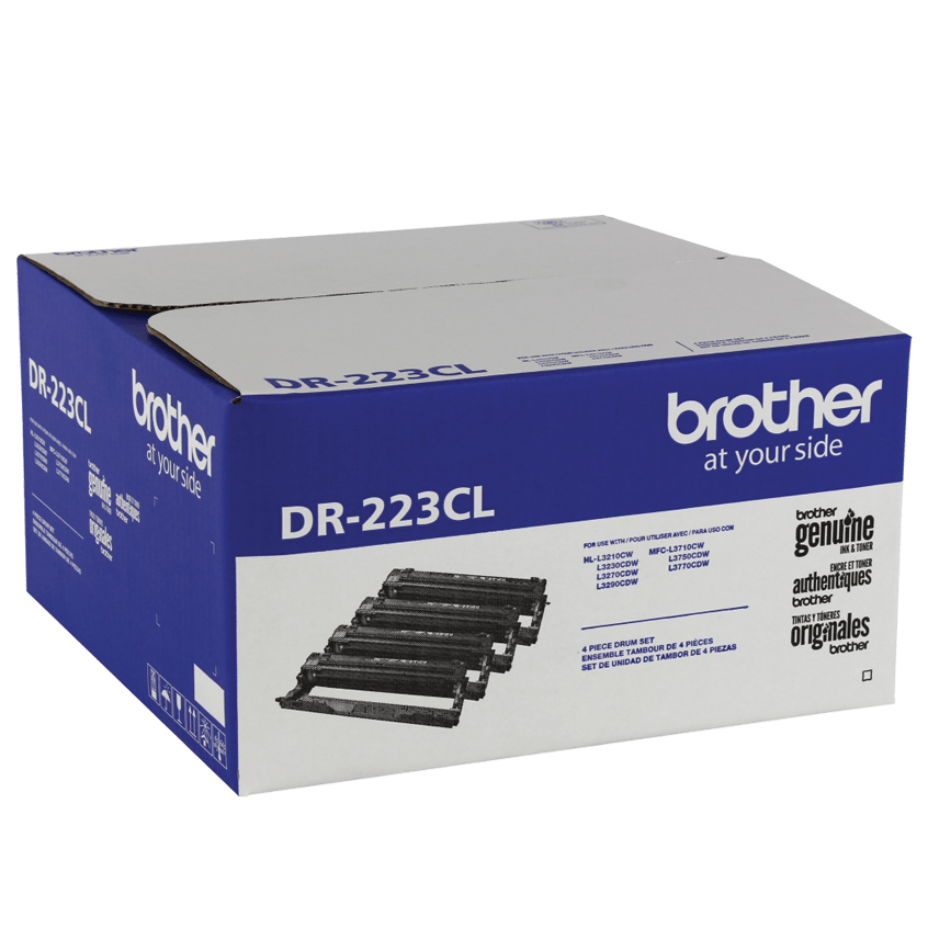 2-Pack Compatible DR223CL DR-223CL Drum Unit DR223 TN223 TN223C Used for Brother HL-L3210CW L3230CDW L3270CDW L3290CDW MFC-L3710CW L3750CDW L3770CDW Printer Toner Cartridge 1Drum+1Toner