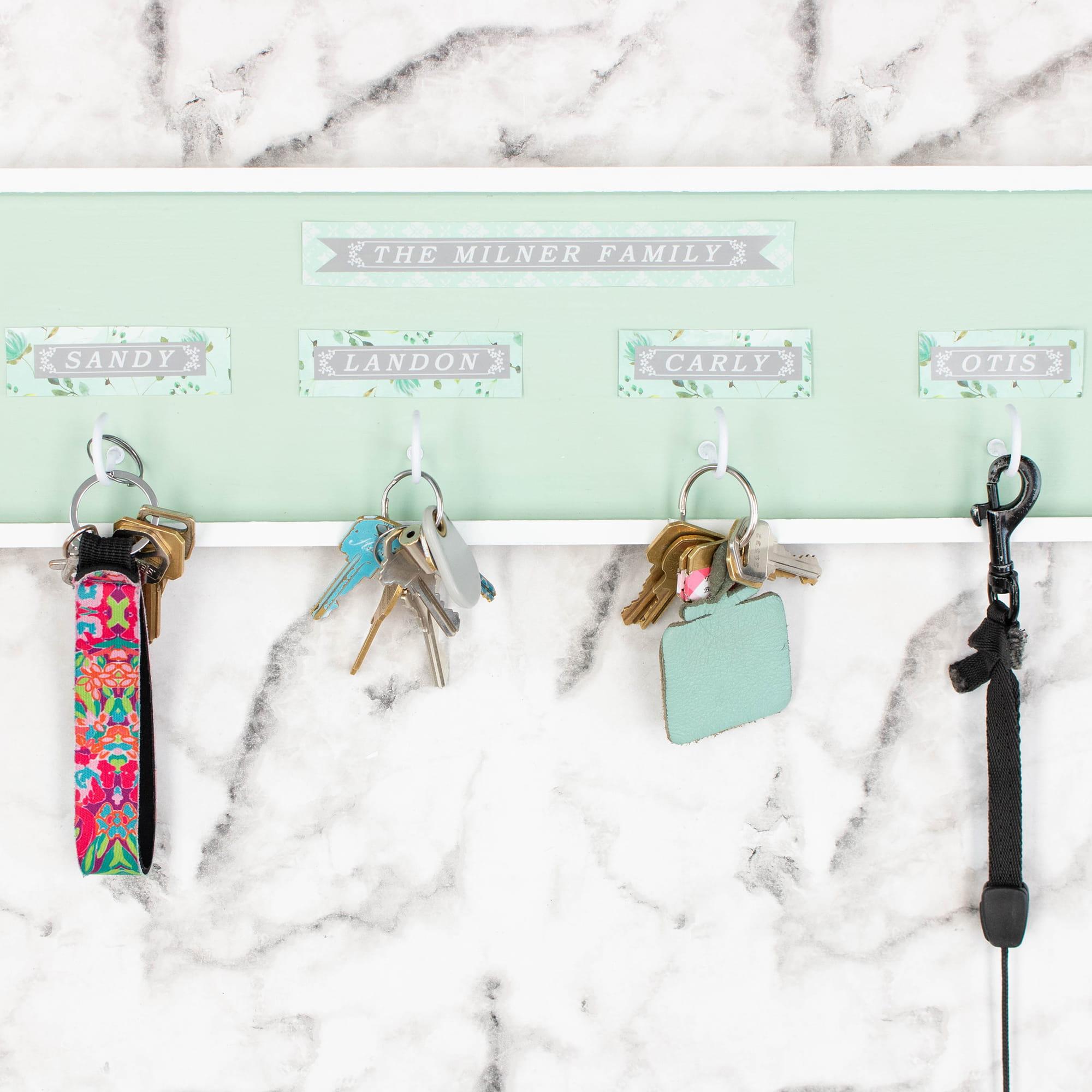 DIY Personalized Key Holder-19