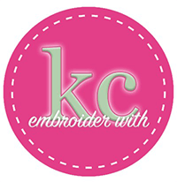 Embroider with KC