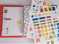 Make your own planner stickers