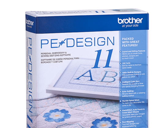 Pe Design 11 Personal Embroidery And Sewing Digitizing Software By Brother