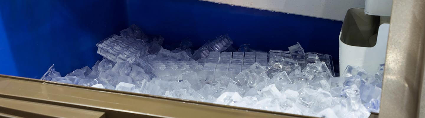 ice machine utilizing Brother gear motors for food processing