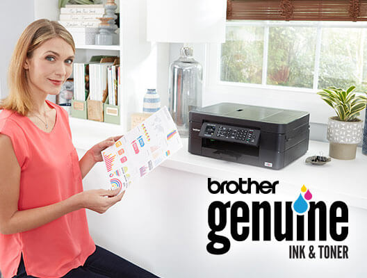Brother Genuine Ink billboard