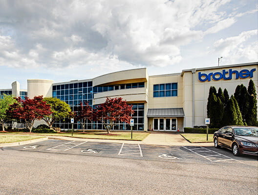 Brother Gearmotors USA manufacturing facility exterior