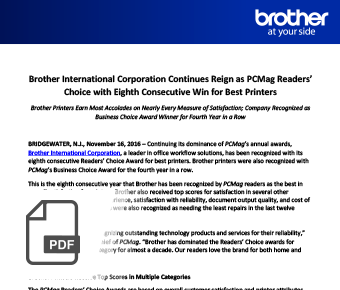 Brother official communication