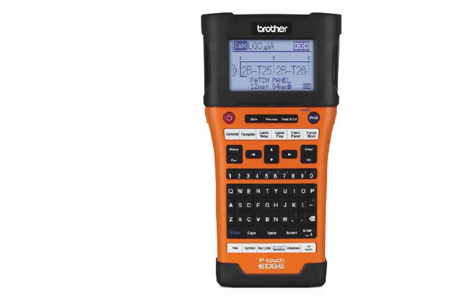 Orange Brother P-touch