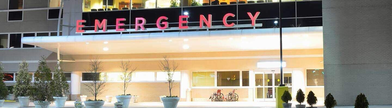 Emergency room exterior