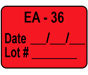 EA 36 red label