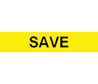 Save label
