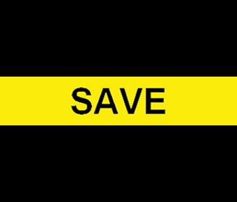 Save label