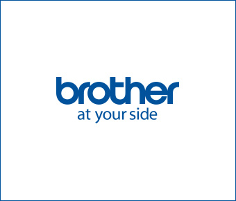 Brother logo in blue