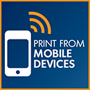 Print from mobile devices logo