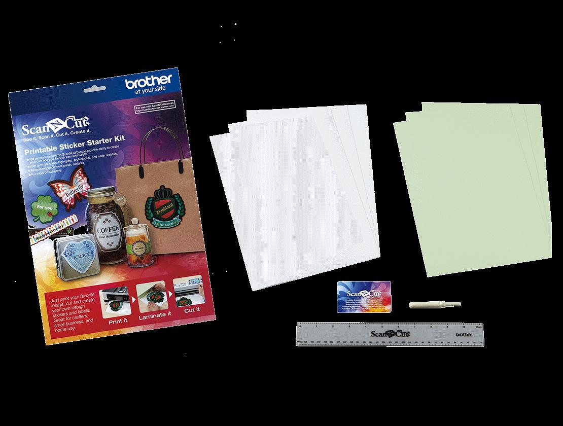 Scanncut Starter Kit Canvas Software Brother Free Electronic Design Make It Sparkle Rhinestone