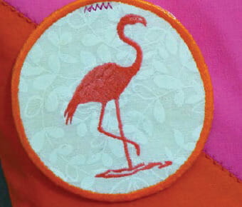 Flamingo Bag Tag