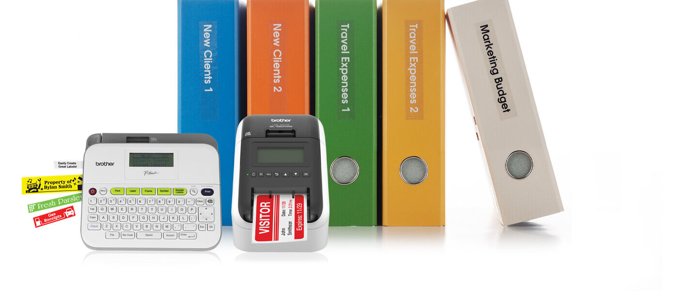 baa20e9e394 Organize and Personalize Your World with Brother Label Makers and Label  Printers