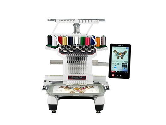 Brother Entrepreneur Pro X Pr1050x 10 Needle Embroidery Only