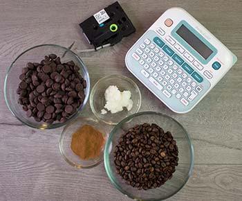 Coffee card carrier