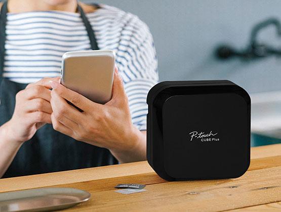 P-touch Cube plus