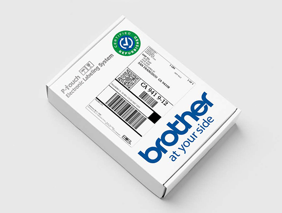 Brother Certified Refurbished Carton