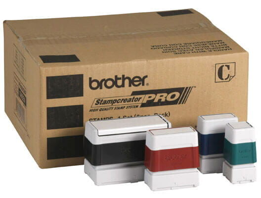 Brother SC-2000 packaging with stamps