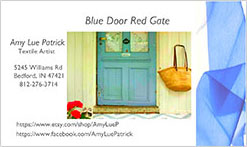 Blue Door Red Gate