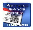 Print Postage from your Desktop