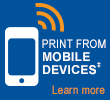 Mobile Device Printing Icon